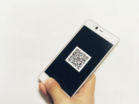 Smartphone and QR code