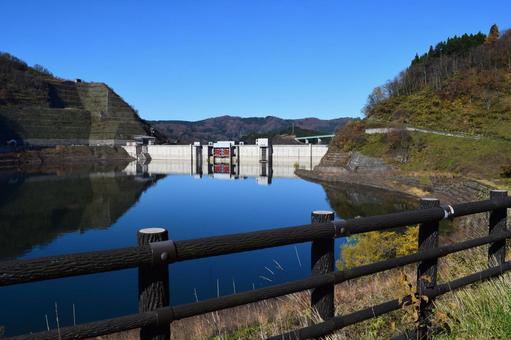 Kangawa River Dam (100 Selected Dam Lakes)