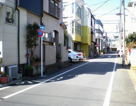Residential area in Bunkyo-ku, Tokyo