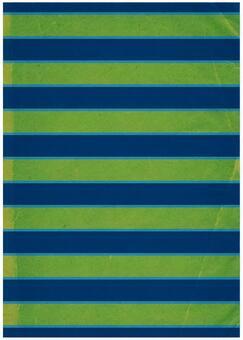 Grunge texture border Navy x green