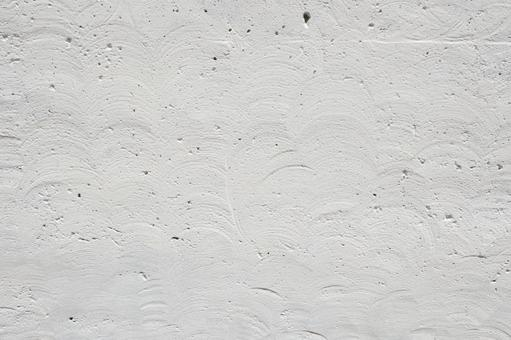 白いコンクリート_モルタル_白背景