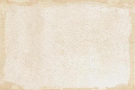 Beige Japanese paper texture edge tan background material