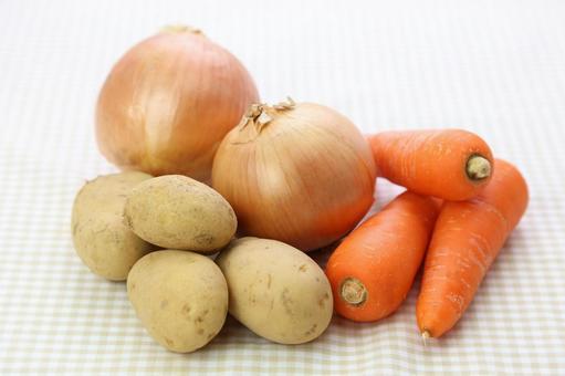 胡蘿蔔,洋蔥和土豆5