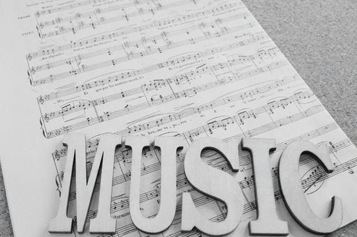 Music monochrome
