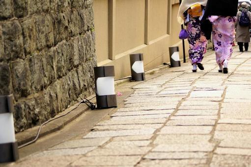 Kimono Form Around Kodaiji