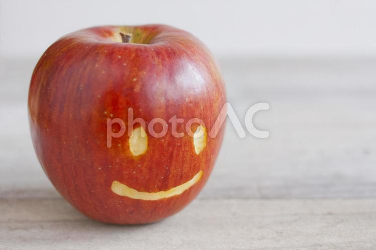 にこにこりんごの写真