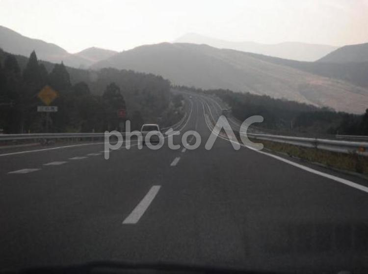 阿蘇でのドライブの写真