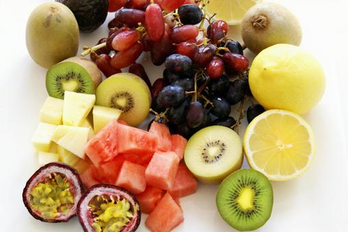 Assorted fruits 06