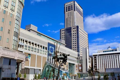 삿포로 역 빌딩 jr 타워