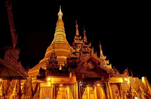 미얀마 26 슈에다곤 파고다 (양곤)