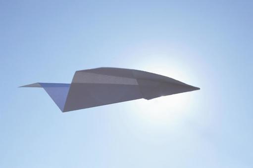 Paper flying machine 12