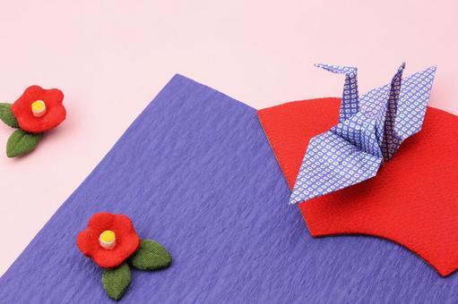 Crane and plum blossom