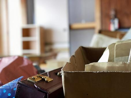 Image of decluttering of parents' house