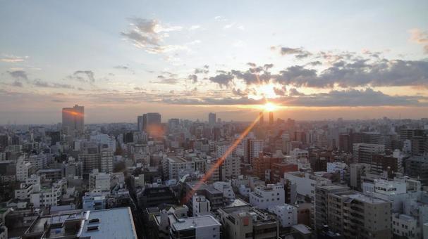 도쿄의 아사히