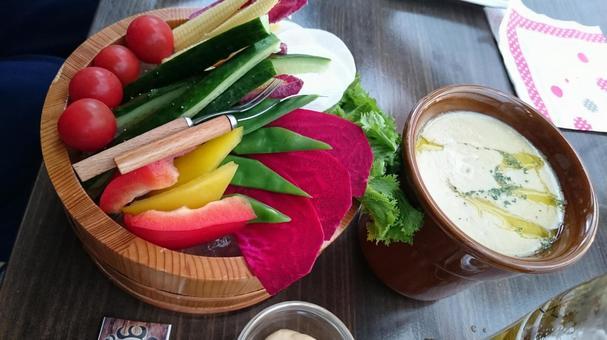 Vegetable Bagna cauda