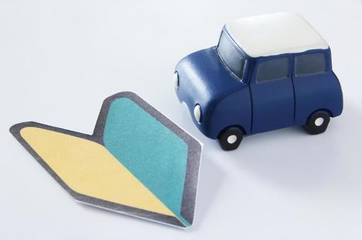 Beginner driver blue