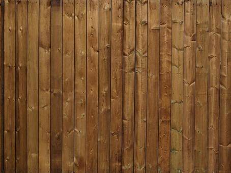 Wooden fence fence