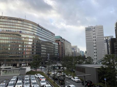 하카타 역 다이 하쿠 거리보기