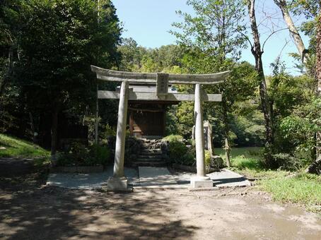 伊豆景觀石牌坊