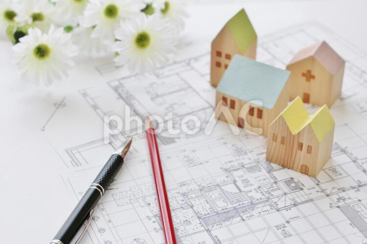 家 間取り図の写真