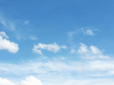 Summer blue sky 3