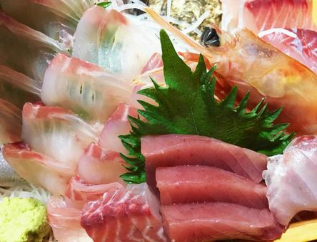 Sashimi platter #01
