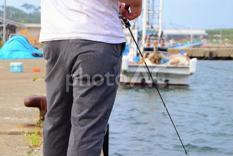 釣り人の写真