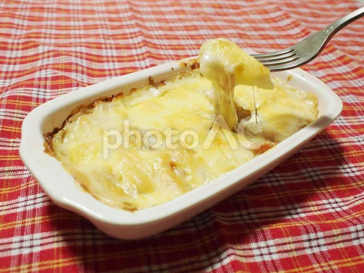 餅グラタンの写真