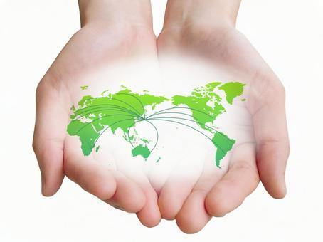 손 - 세상을 나가자.