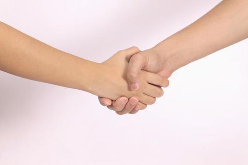 手部件(握手)10