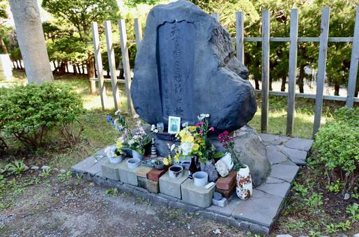 Hakodate, Hijikata Toshizo, the last monument