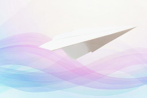 Good news - paper airplane