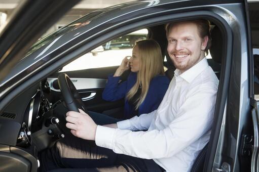 Test drive couple 2