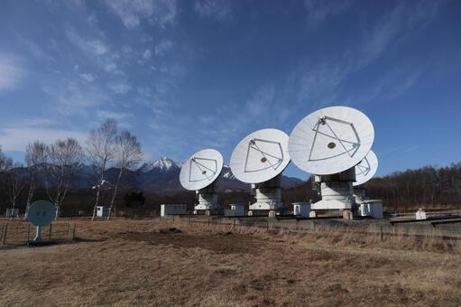 Nobeyama空間無線電天文台的拋物面天線3