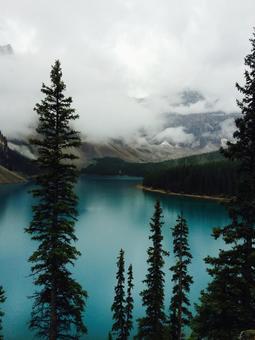 캐나다 모레 인 호수