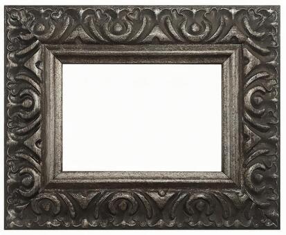 Antique silver frame 8