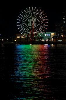 Ferris Wheel 3 at night