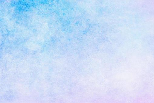 Blue watercolor-like texture Mottled Japanese paper-like color background Gradient