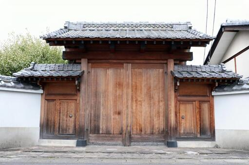 Japanese-style gate (general housing)