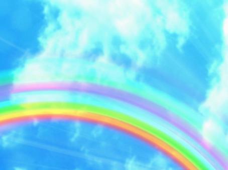 天空和光背景08
