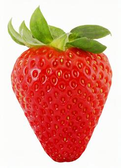 Strawberry (with clipping path · PSD background transmission)