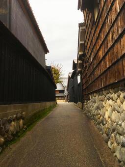 Kawahara-cho backhway in Gifu