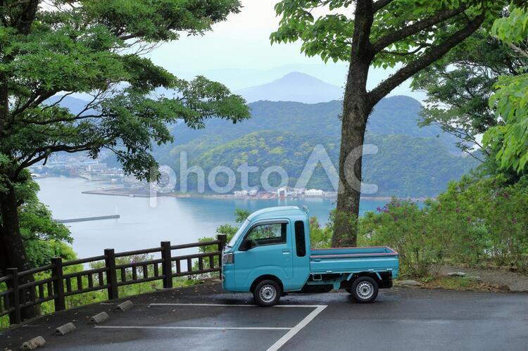 軽トラのある風景の写真