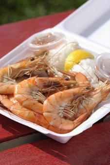 夏威夷盤午餐