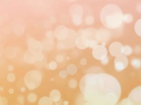 Fantasy Orange - Rounded blurred background image