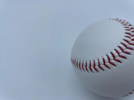 Baseball ball: Right-sided version