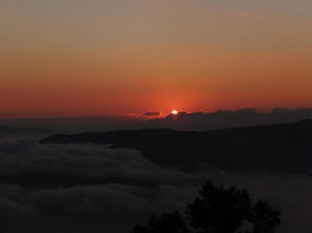 Miyajima Misen First sunrise