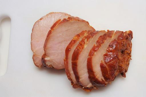 사온 구운 돼지 고기