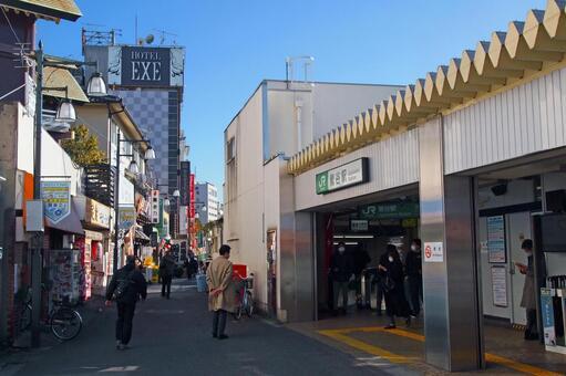 JR 우구 이스 다니 역 북쪽 출구