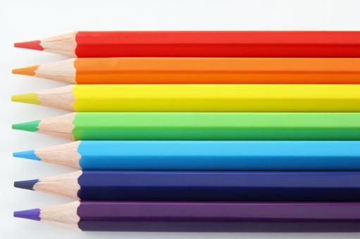 Color pencil seven colors